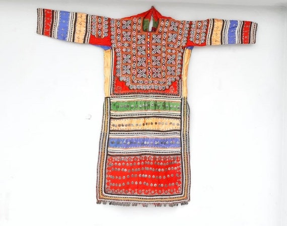 Tribal antique embroidery sindh valley silk embroi