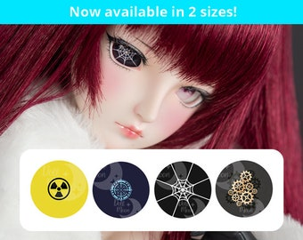 Symbolic Follow me doll eyes for Smart Doll, Dollfie Dream and other Bjd