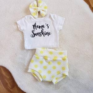 Rain and Sunshine Rainbow Baby Bodysuit