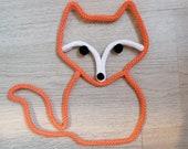 Namenszusatz Fuchs aus Wolle