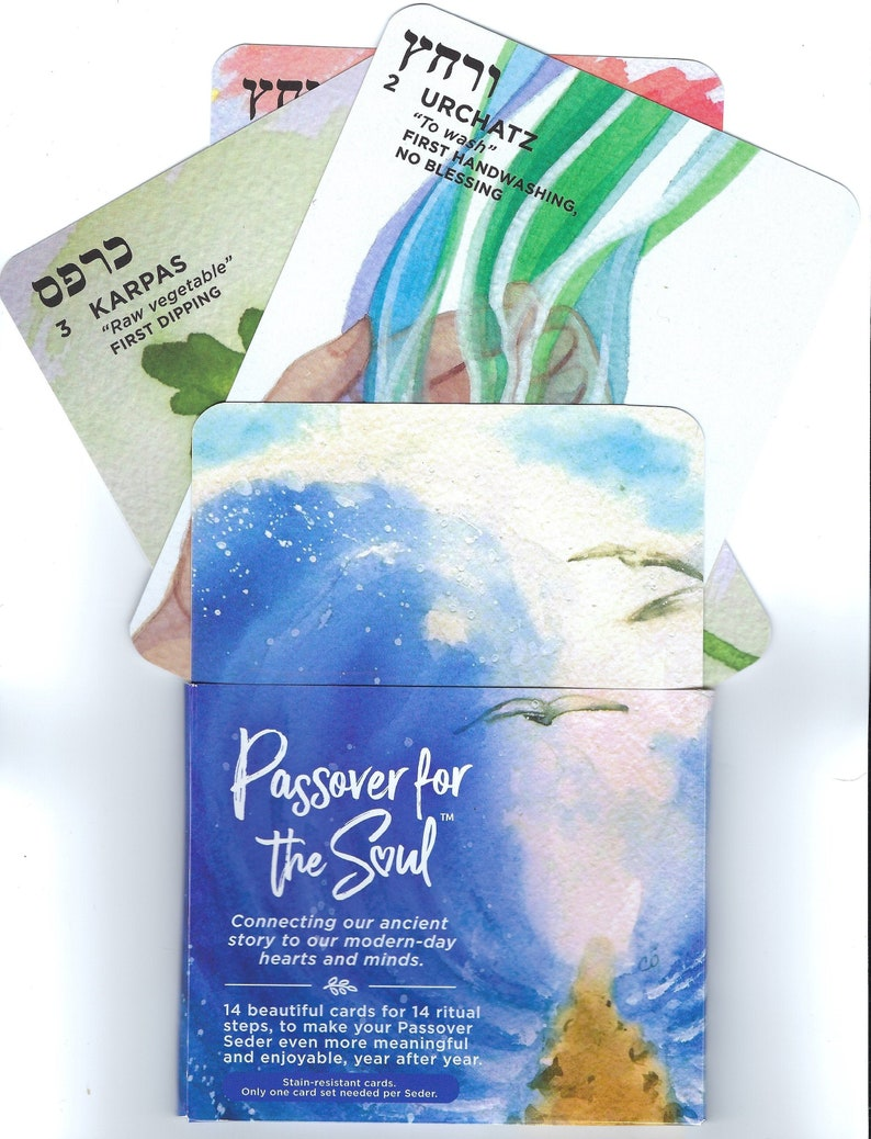 Passover for the Soul card sets complement to Haggadah image 0