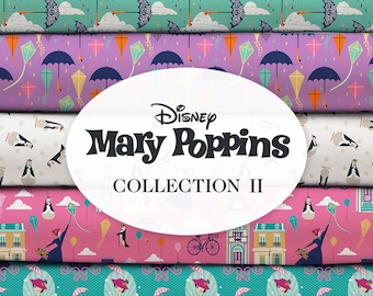 CA1473KK Disney Mary Poppins Returns Practically Perfect Panel 35 Premium Quality 100/% Cotton Fabric by The Panel.