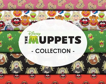 The Muppets Cotton Fabric by the Yard - Disney's The Muppets Collection