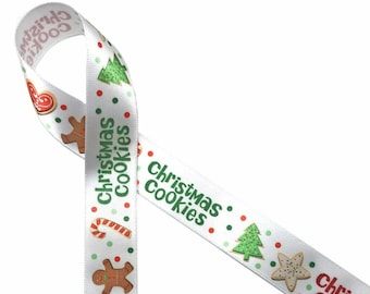 candy shops printed on 58 white satin sweets tables gift wrap Pinstripe ribbon in pink or red for Valentine/'s Day party favors cookies