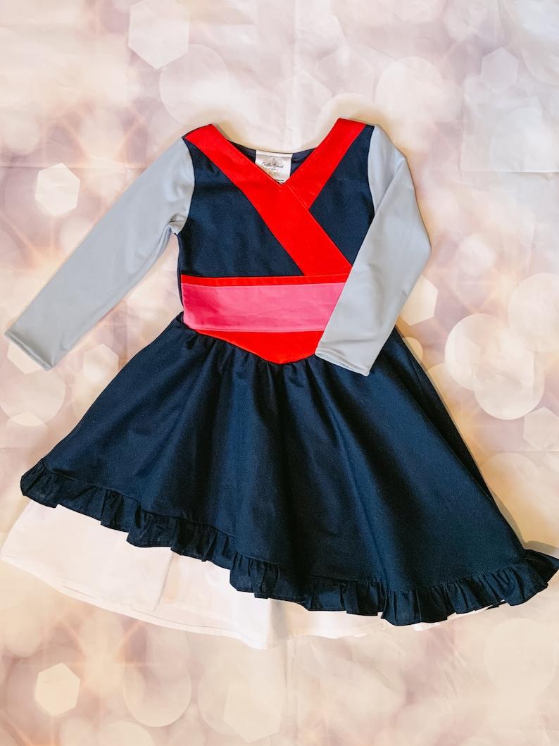 Baby Princess Dress Chinese Warrior Princess Dress Toddler Cosplay Dress Chinese Princess Dress for Kids Toddler Princess Dress