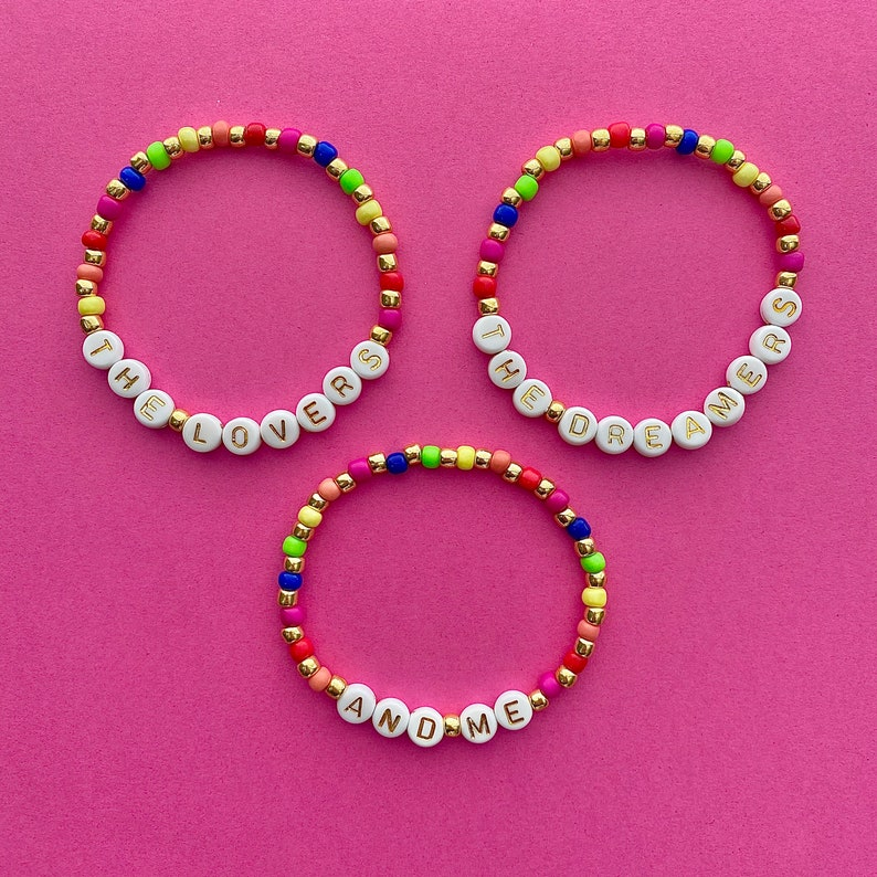 The Muppets Rainbow Connection The Lovers The Dreamers And Me Beaded Bracelets