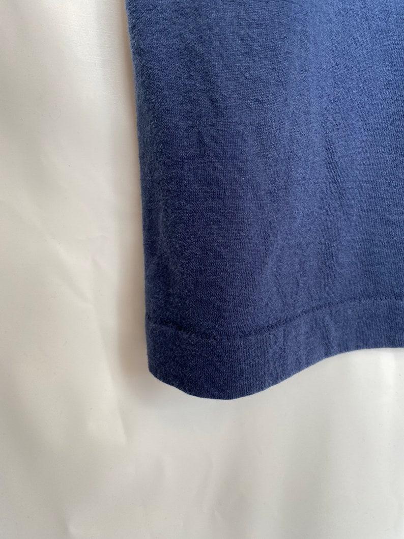 Vintage Fruit of loom  Waltham police embroider T-shirt XL