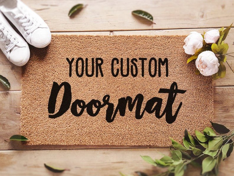 Custom Doormat / Personalized Doormat / Customized Welcome Mat image 6