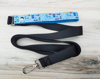 puppy lead dog lead walkwear fun dog leash Seafoam Leopard print Dog Leash