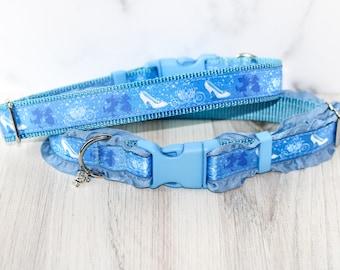 Cinderella dog collar, Cat collar, Disney dog collar, Disney princess , Dog collar, Princess , Cinderella, Glass slipper, Disney cat collar