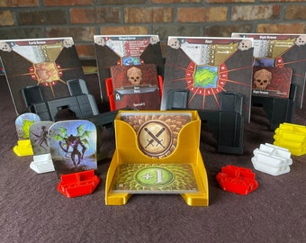 Next Generation Gloomhaven Monster Card Holders and Standee Full Set - Gloomhaven Accessories - MAD Stacker