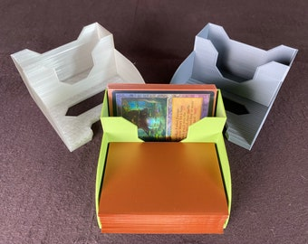 V2 Playing Card Deck Holder Tray - Draw and Discard