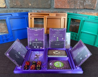 Gloomhaven Character Dashboard - Gloomhaven Player Dashboard - Frosthaven - Jaws of the Lion