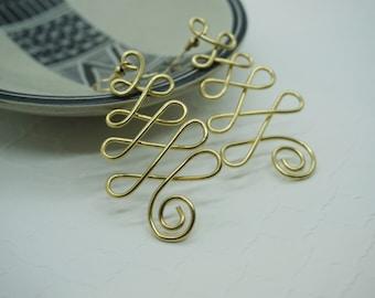 Wire Tree Earrings