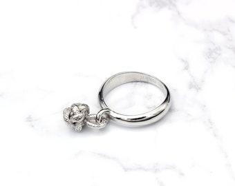 JRD016 #6 Vintage Jewelry Swatch Bijoux Ring  SAMBA