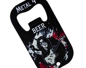 Flaschenöffner Gitarre Schlüsselanhänger Metall Küche Bar Bier Neuheit NicODDE