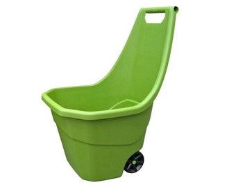 Multi Purpose Garden Cart Wheelbarrow Garden Dump Cart / Planter 55 Litres