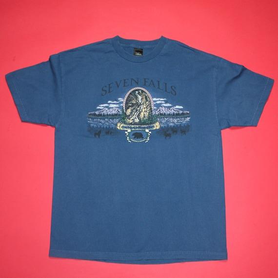 Vintage 90s Seven Falls, Colorado Tourist T-Shirt
