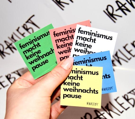 Feminism Doesn't Take a Christmas Break