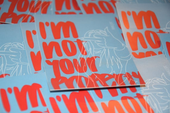 I'm Not Your Property Planner Stickers