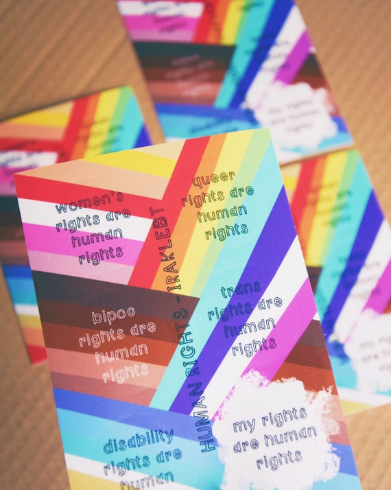 Human Rights Sticker Sheet