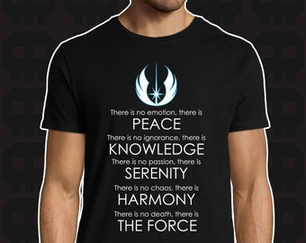 Men/'s Star Wars jedi code T shirt