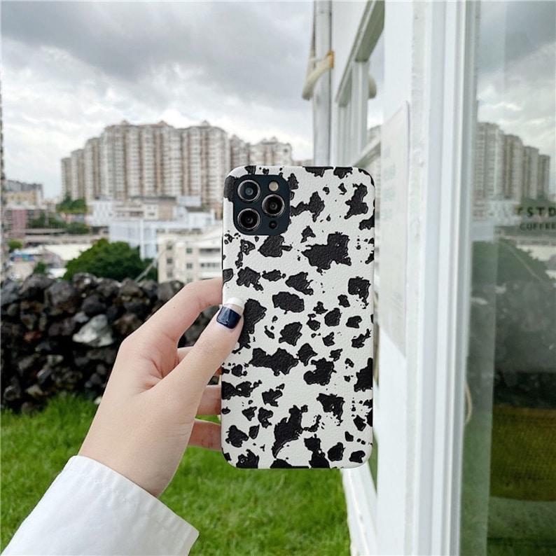 Aesthetic Cow Print iPhone 12 pro max,Black /& White Zebra,Animal Spot Pattern,Christmas Gift Idea,iPhone 6s 7 8 Plus X XS Max XR 11  SE