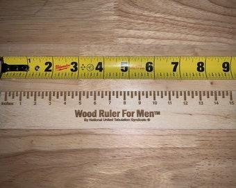 walnut ruler student gift Ruler student ruler wooden measuring tool wooden ruler