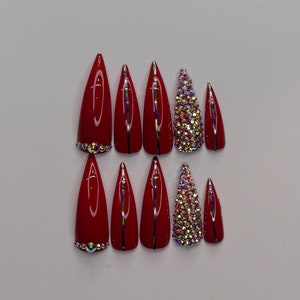 performer costume False nails 2 sets for 45 listing press on drag queen burlesque