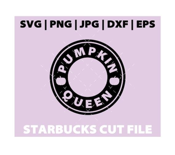Pumpkin Queen Starbucks Svg Fall Starbucks Svg Tumbler Mug Etsy
