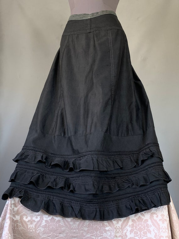 Antique Mourning Skirt