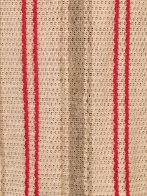 1970's Plus Size Vertical Stripe Knit Midi Skirt … - image 7