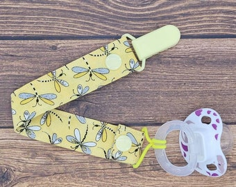 Paci Leash Baby Shower Gift for girl Binky Lanyard Dummy Chain Pacifier Clip Flower Floral Baby Gift Soother Holder Baby Girl Gift
