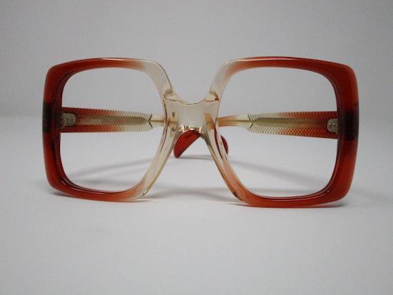 Jacques Esterel Cherry Red 60s 70s Vintage Oversiz