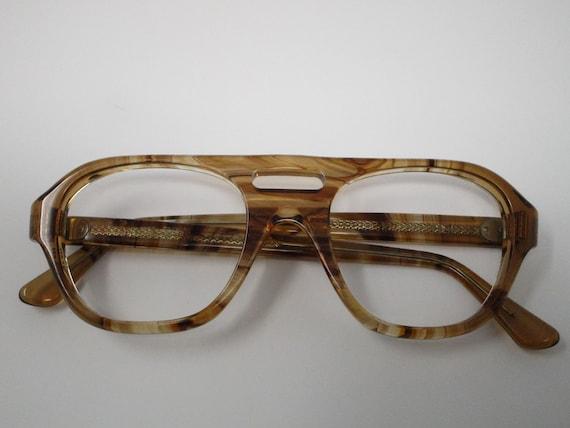 Titmus Tortoise Shell Glasses Aviator Vintage Eyeg