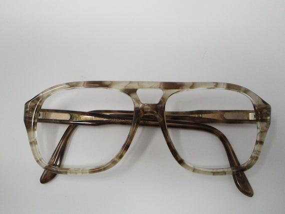 Titmus Vintage Tan Tortoise Shell Aviator Eyeglass