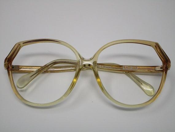 Yellow Vintage Eyeglasses Sunglasses Frames - Germ