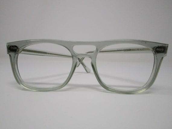 Titmus Vintage Clear Transparent Aviator Eyeglasse