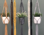 Macrame plant hanger home decor macrame macrame wall hanging plant gift plant accessories indoor planters plant holder