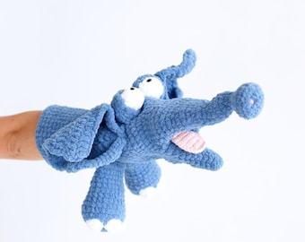 Ellie Elephant Hand Puppet