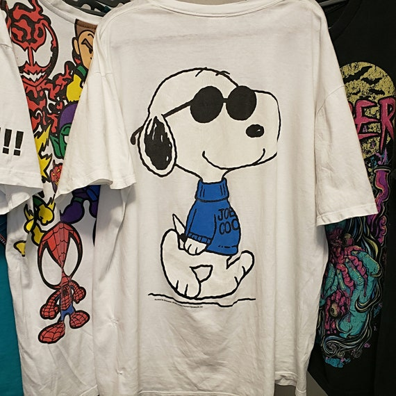 Peanuts Snoopy White Tee XLarge