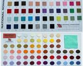 Wool Felt Colour Chart, Felt Sheets, Felt Squares, Wool Blend Felt, Australia, Australian Felt Emporium