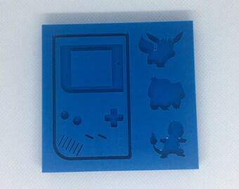 foil Gameboy silicone form DIY game