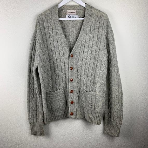 Campus Wool Vintage Cardigan