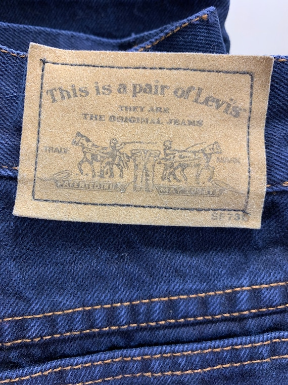 Vintage Levi's 900s 1980s Jeans High Rise Skinny … - image 5