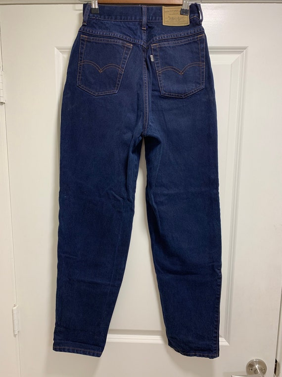 Vintage Levi's 900s 1980s Jeans High Rise Skinny … - image 1