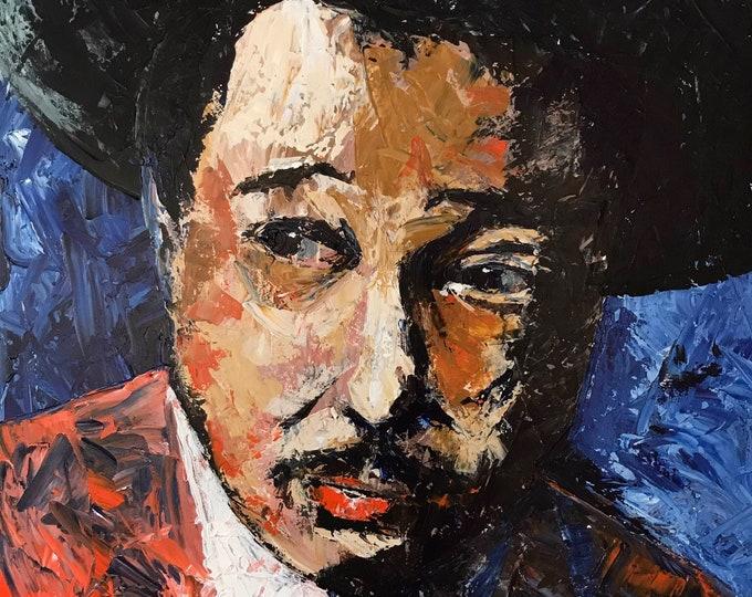 Duke Ellington a Giclee Print from an original Acrylic painting