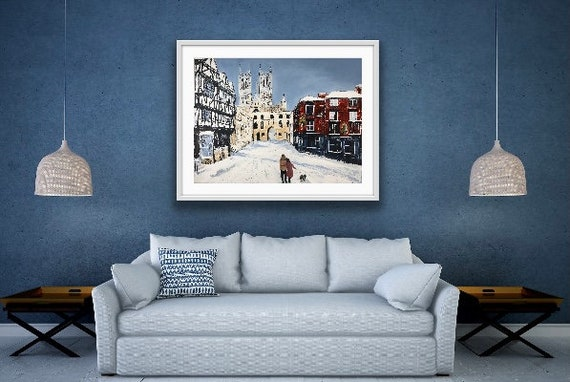 Lincoln Art Print, Lincoln Cathedral