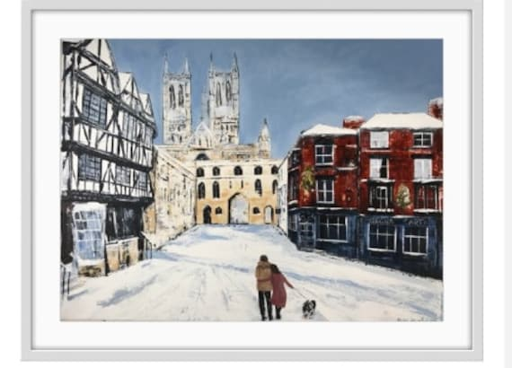 Lincoln Art Print, Lincolln Cathedral