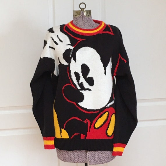 Vintage Mickey and Co., Mickey Mouse, Unisex Sweat